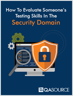 Free Worksheet: How To Evaluate Someone's Testing Skills In The Security Domain