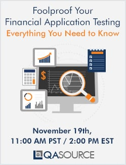 Webinar: Foolproof Your Financial Application Testing