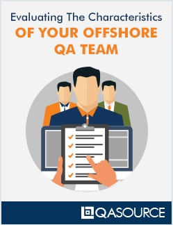 Worksheet: Evaluating The Characteristics Of Your Offshore QA Team